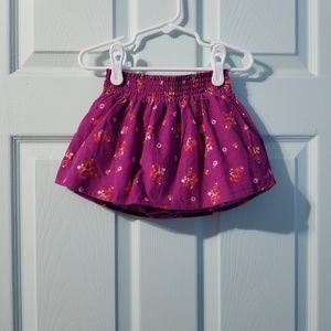 |nwt|•old navy corduroy skirt 18-24mos•